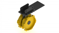 Double Drum Rotary Compactor Wheel