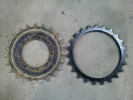 Sprocket rims