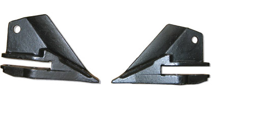 K2 Kubota Style Tooth Side Cutters Pair