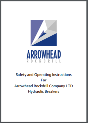 Safety and Operating Instructions Hydraulic Hammer Arrowhead